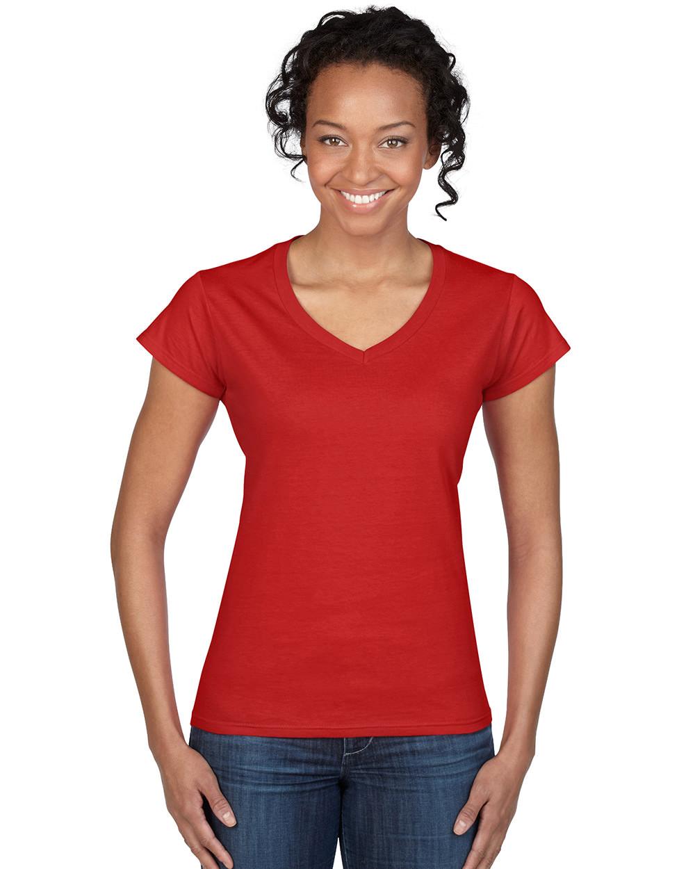 Διαφημιστική γυναικεία μακό κοντομάνικη μπλούζα με V λαιμόκοψη υπάρχει η  δυνατότητα να είναι τυπωμένα η κεντημένα ... 0eaea8e7395