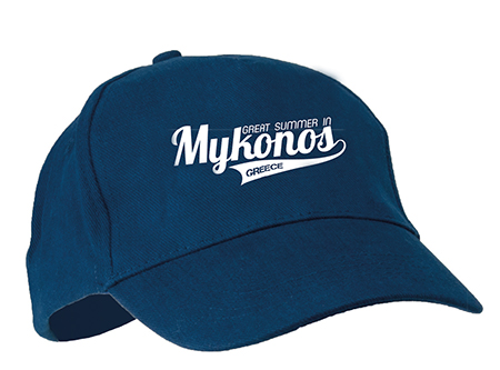 c2e3ddf74a56 Διαφημιστικό καπέλο jockey με μεταλλικό κλίπ στο πίσω μέρος τυπωμένο ...
