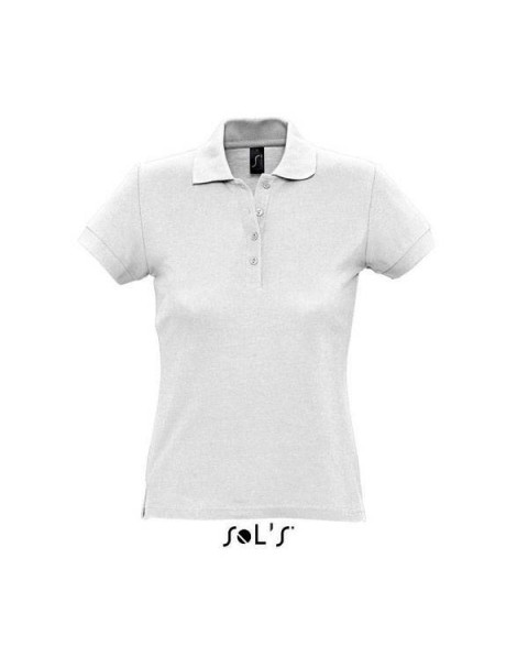 f757db4586d0 Γυναικεία διαφημιστική μπλούζα πόλο υπάρχει η δυνατότητα να είναι τυπωμένα  η κεντημένα με στάμπα το λογότυπο ...