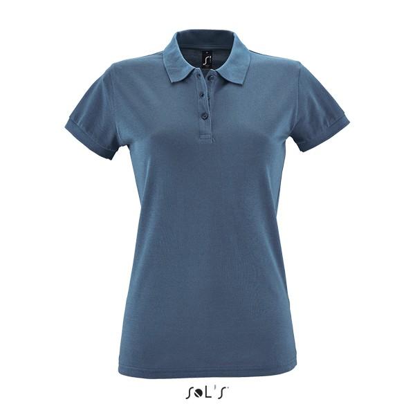 924e0e07e362 ... Γυναικεία διαφημιστική μπλούζα πόλο υπάρχει η δυνατότητα να είναι  τυπωμένα η κεντημένα με στάμπα το λογότυπο