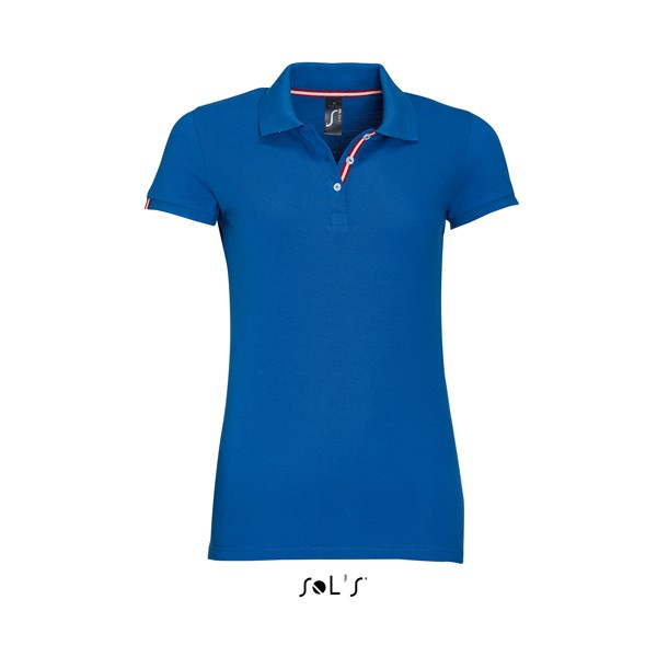 655fcc1c2805 Γυναικεία μπλούζα πόλο υπάρχει η δυνατότητα να είναι τυπωμένη η κεντημένη  με το λογότυπο και τα ...