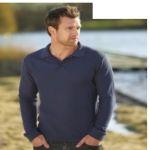 Διαφημιστική μπλούζα τύπου polo με μακριά μανίκια. Υπάρχει η δυνατότητα να είναι τυπωμένα με στάμπα η κεντημένα το λογότυπο και τα στοιχεία σας.