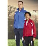 Διαφημιστική αθλητική παιδική φόρμα υπάρχει, η δυνατότητα να είναι τυπωμένη με στάμπα μεταξοτυπίας η ραμμένα με κέντημα το λογότυπο και τα στοιχεία σας