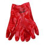 Γάντια από PVC με εσωτερική βαμβακερή επένδυση