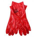 Γάντια εργασίας από PVC κατάλληλα για χρήσεις σε πετρελαιοειδή. Ιδανικά για βενζινάδικα