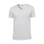 Ανδρική μακό μπλούζα με V λαιμόκοψη για τύπωμα - Εκτύπωση