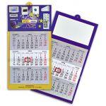 Χάρτινο Ημερολόγιο τοίχου με έγχρωμη ολόσωμη εκτύπωση